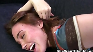 Smoking Jodi Taylor gets Anal Fucked by a Huge Black Unearth